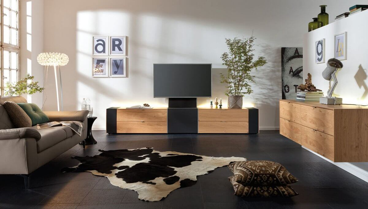 media oplossingen wonen collectie musterring. Black Bedroom Furniture Sets. Home Design Ideas