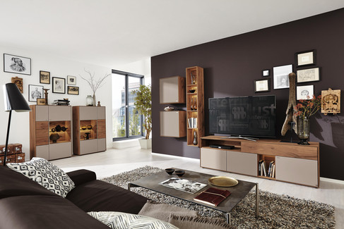 wohnen kollektionen musterring. Black Bedroom Furniture Sets. Home Design Ideas